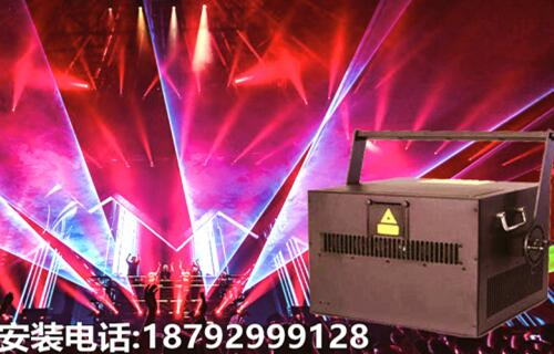 30W color stage laser lamp